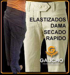 pantalon Dama elastizado Gaucho