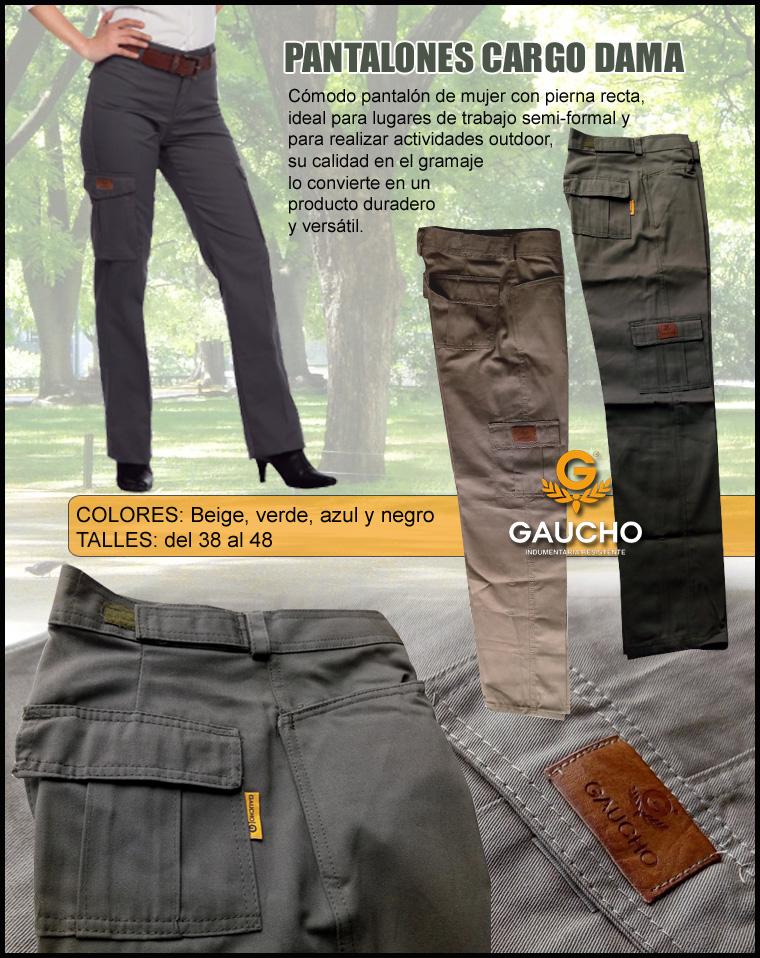 De Cargo Pantalon Pantalon De Mujer Trabajo Trabajo Cargo WHIYDE2e9b