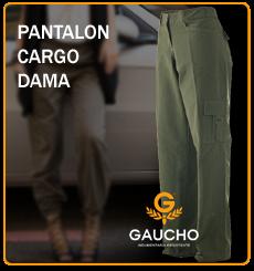 pantalon cargo dama